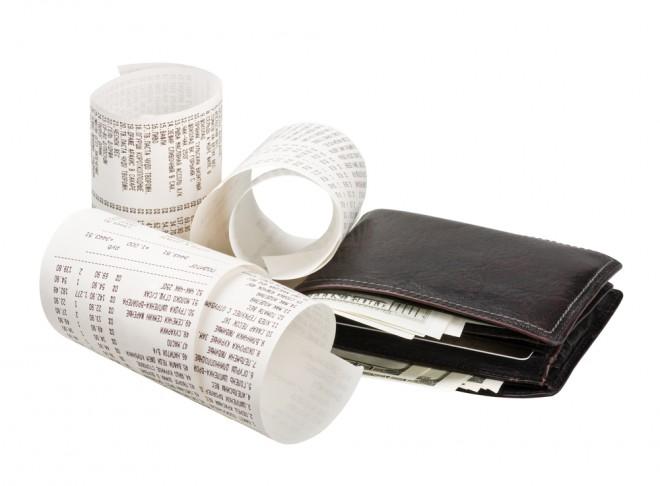 レシート 財布